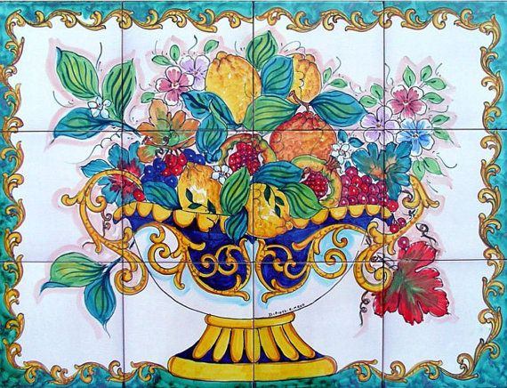 Kitchen Tiles Fruit Design 20 best backsplash images on pinterest