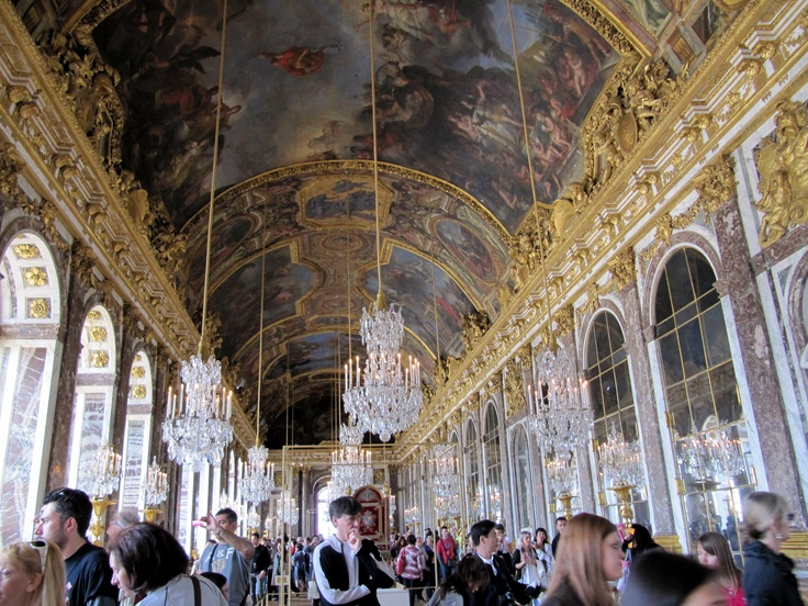 The Mirror Room, Versailles Palace
