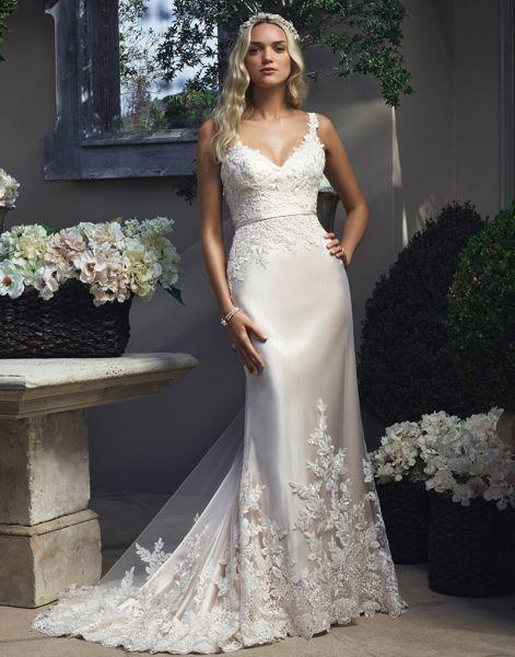 Les robes de mariées parfaites pour les femmes à poitrine généreuse en 2016 Image: 9