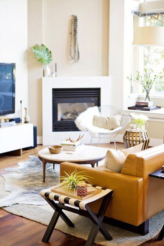 Modern Loft Apartment Bedroom: 246 Best Images About Corner Fireplaces On Pinterest