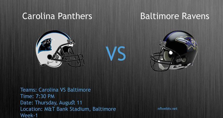 Panthers VS Ravens#Preseason Week 1@ Carolina Panthers VS Baltimore Rave...Carolina Panthers VS Baltimore Ravens Live Streaming.. Go Live: nflwebtv.net