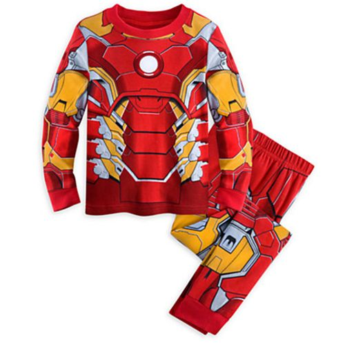Peter's Iron Man pjs