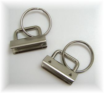 Great website for KEY FOBS - hardware, nickel plated clamp and other sewing supplies