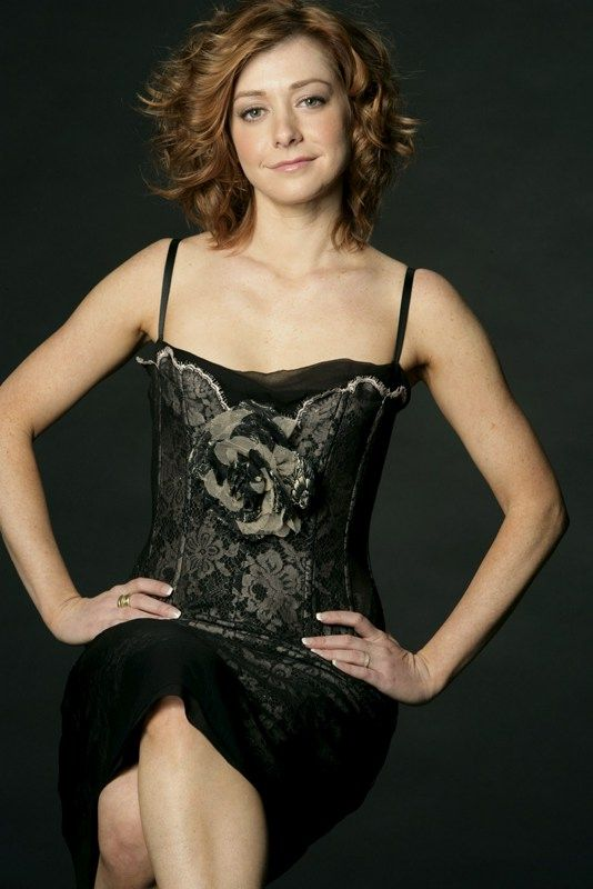 Alyson Hannigan from Buffy | Stars | Pinterest | Her hair