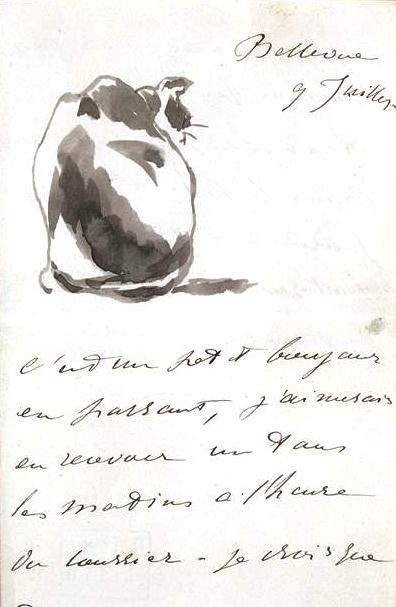 Sketch of cat by ManetStill Life . Photography