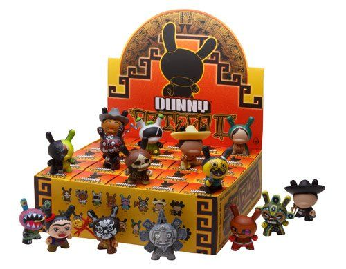 Kidrobot Azteca 2 Dunny Blind Box One Supplied