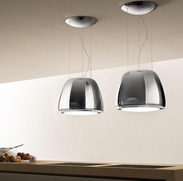 Moderne Dunstabzugshaube Kochinsel Edelstahl Design Ideen