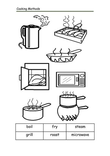 Free Printable Cooking Worksheets : Best images about life skills kitchen food on