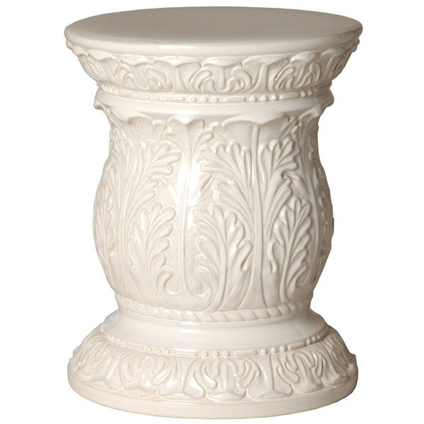 673 best images about garden stools on pinterest side for Garden stool side table