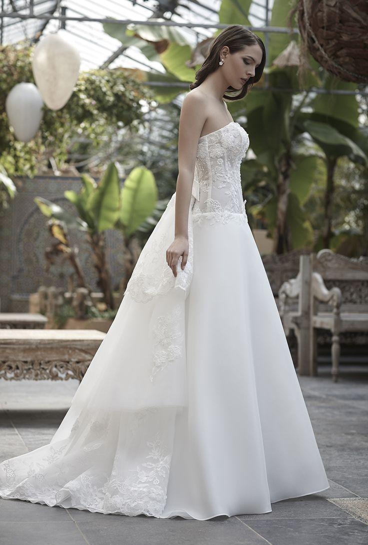 Mysecret Sposa Collezione Zaffiro Cod. 17119  #mysecretsposa #sposa #collezionesposa #abitidasposa #wedding #weddingdress #bride #abitobianco