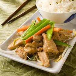 Pork stir fry with ginger | Recipe