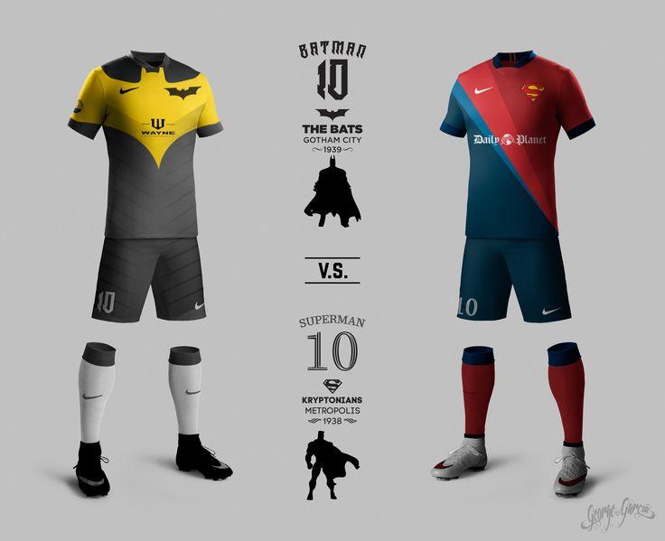 ¿Qué pasaría si Ciuadad Gótica y  Metropolis tuvieran un equipo de futbol? Batman vs Superman