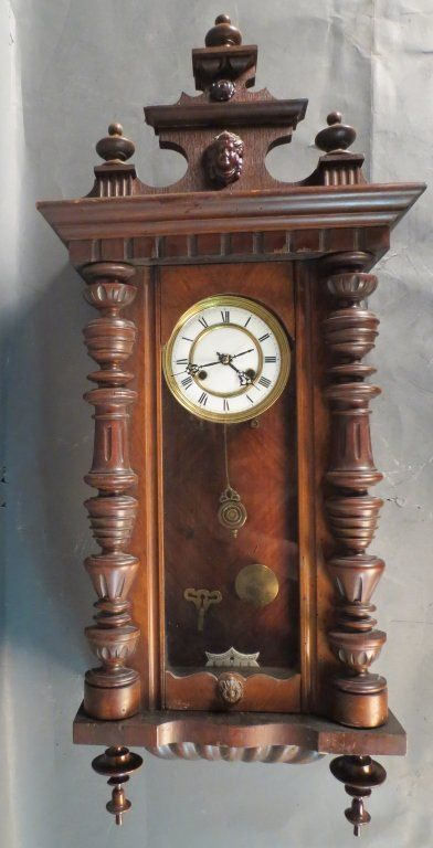 Victorian Wall Clock : Lot 67