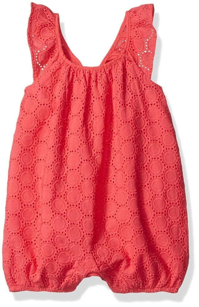 Baby Girl Summer Time Strawbery Sunsuit Set NB