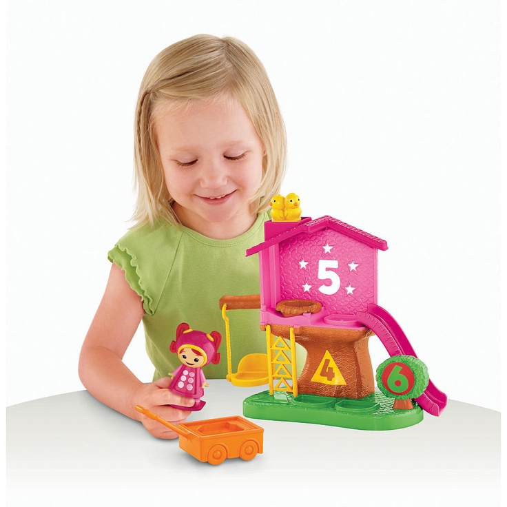 Fisher-Price Team Umizoomi Milli Mighty Matching Treehouse