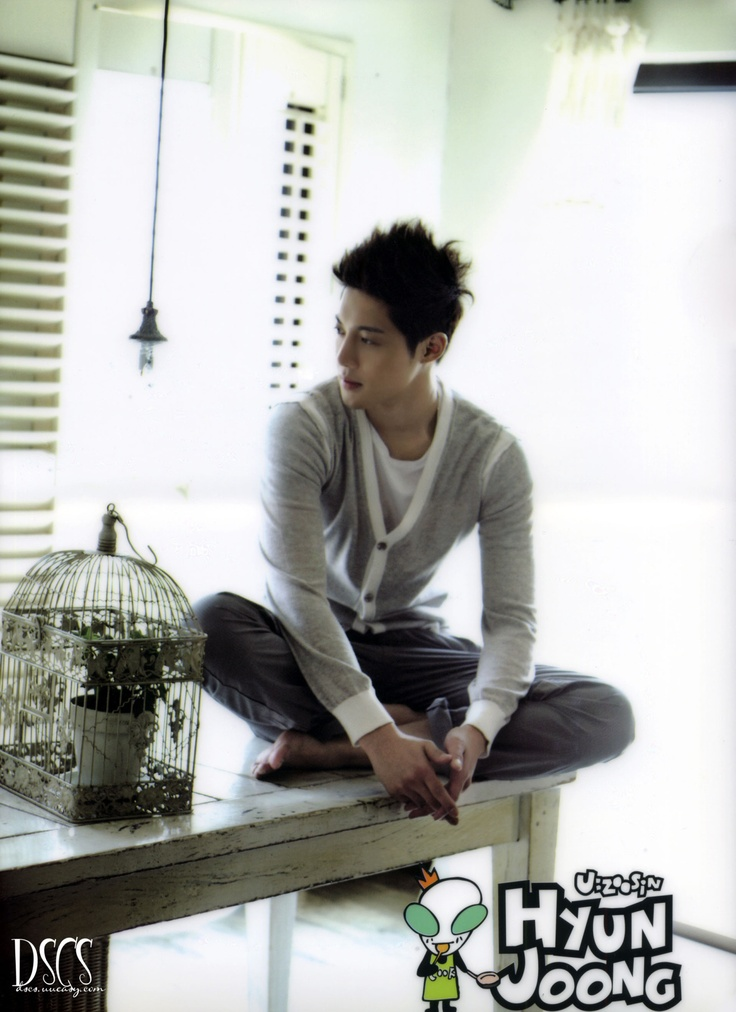 I need a Kim Hyun Joong for *my* kitchen counter. Where d'you suppose I could pick one up?