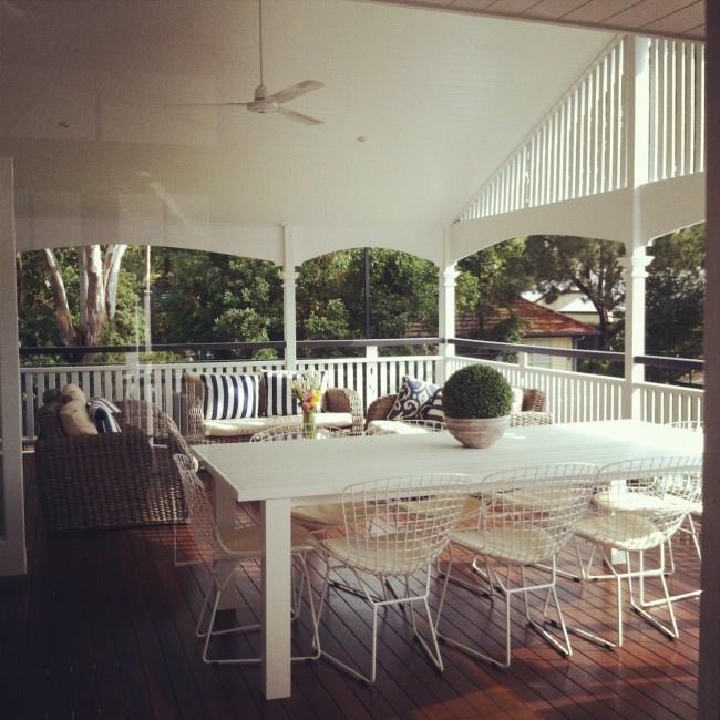 A Perfect Queenslander outdoor living space
