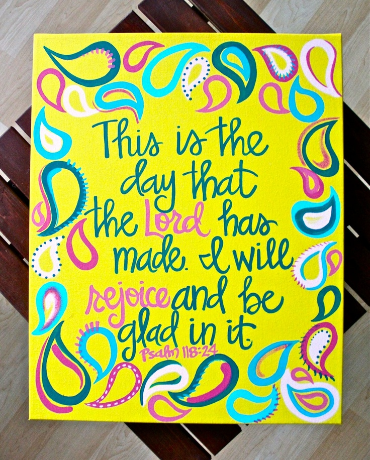 """Custom Scripture or Quote Painting - 16""""X20"""" Framed Canvas. $42.00, via Etsy."""