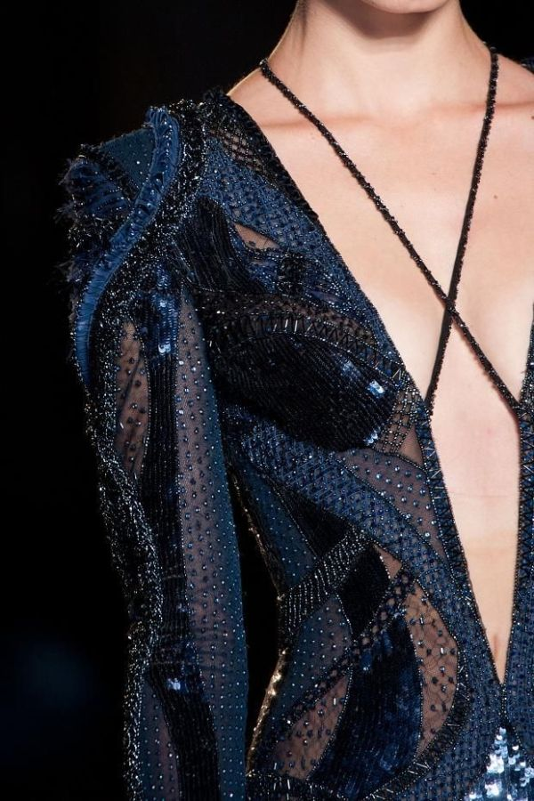 Atelier Versace Fall 2013 Detail