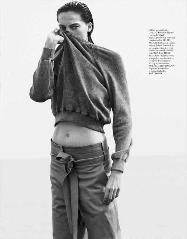 Daria Werbowy by David Sims for Vogue Paris