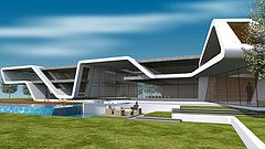 Alain Yotnegparian Architects   Los Angeles Custom House Design   Ribbon Villa