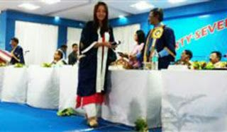 Salesian College ladies win 7 medals at the 47th Annual Convocation of NBU held at Siliguri   At 47th Annual Convocation of North Bengal University (NBU) held on 2nd June 2017 at Siliguri - out of 161 medals awarded to Post Graduate students of 2016 batch from 47 affiliated Colleges Salesian College students and faculty all ladies bagged seven medals.  While Siliguri Campus new faculty member Madam Saptami Sarkar won Gold medal for Geography student Miss Raina Mahalanobish won Gold Medal in…