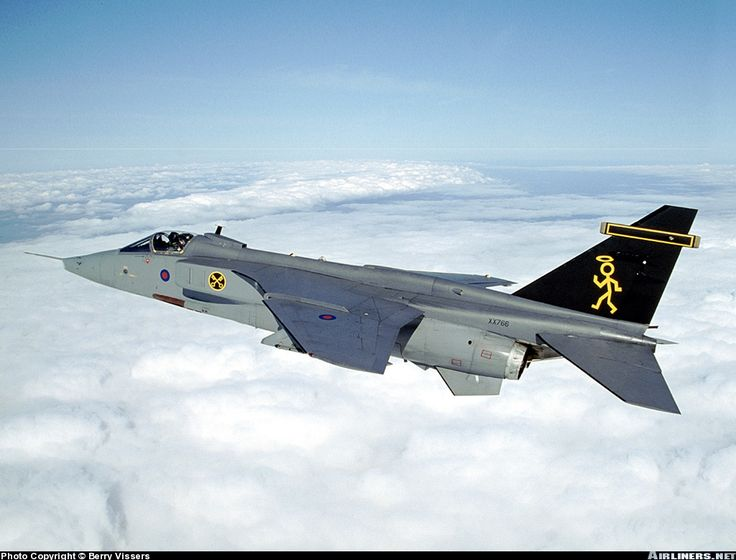 Over the clouds, just before we went low down in Wales with the two Jaguars. - Photo taken at In Flight in England, United Kingdom on February 26, 2002.