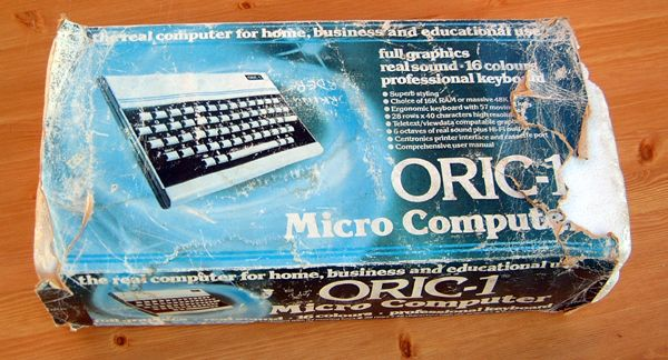 Oric 1 Computer Boxed with PSU - Buy Online - Sqitz Electronics and Computer Surplus