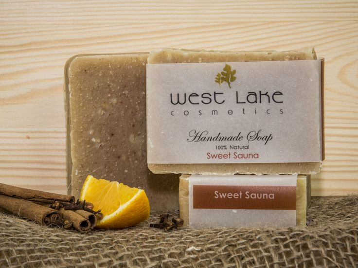 Sweet Sauna soap is warm and sweet, reminding us of sitting in a sauna down by the lake anytime of year.  Its woodsy and comforting, Popular for both men and ladies.