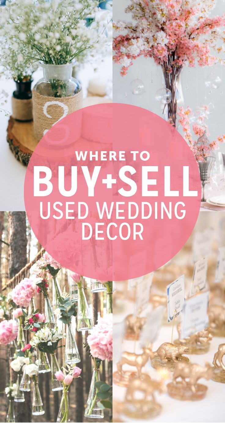 Where To Buy Or Sell Used Wedding Decor Used Wedding Decor Wedding Decorations For Sale Sell Wedding Decorations