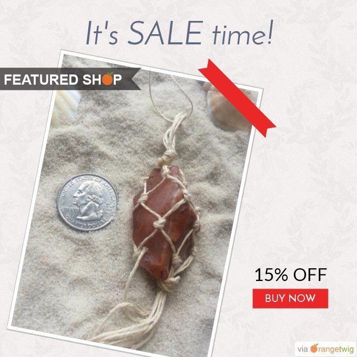 In Etsy shop, GoodharborCo you can find skin care and jewelry and we say that's pretty unique. GoodHarborCo is using OrangeTwig's layouts to promote their discounts.   Click to find out how you can promote your discounts in such layouts and more.