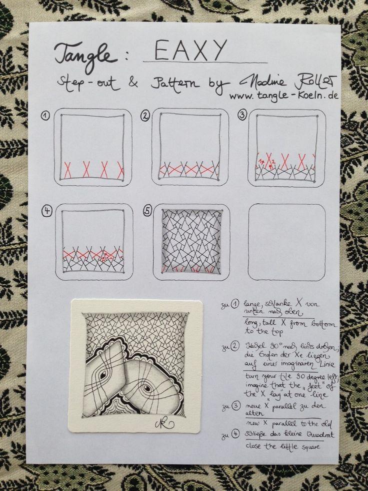 Das Muster EAXY, ist es wirklich easy? The pattern EAXY, is it really easy?