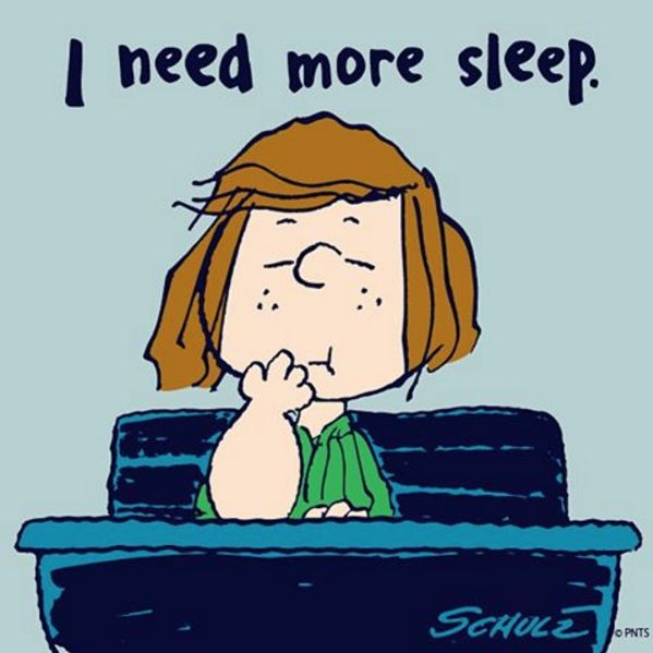 So tired today.