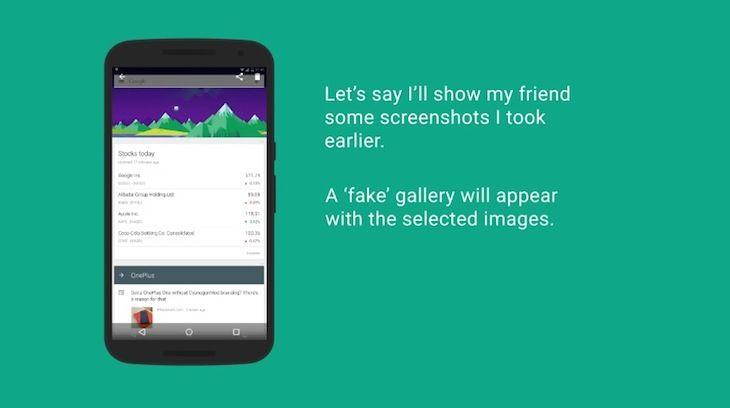 Sabías que Ninja Snap, app que toma una selfie en caso de que alguien mire más fotos de la cuenta en tu galería