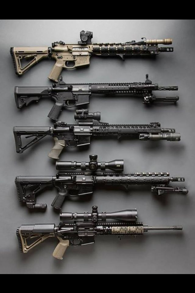 Verify matters  AR-15 rifles