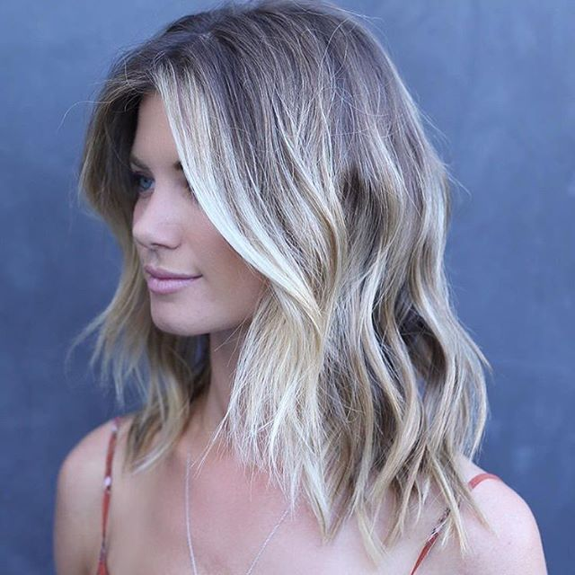 Saturday Style Color by @stephengarrison Cut and style by @donovanmillshair #hair #hairenvy #hairstyles #haircolor #bronde #balayage #highlights #bronde #behindthechair #americansalon #modernsalon #maneinterest #inspiration #goodhairdays #jonathanandgeorge