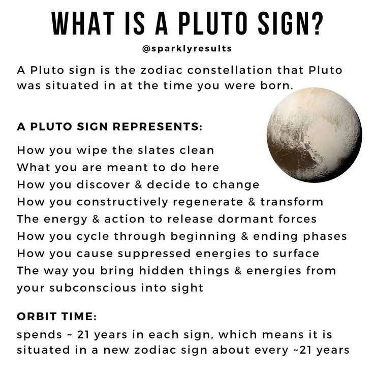 What Does Pluto Mean In Astrology