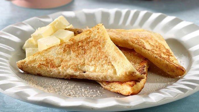 Resep Cinnamon French Toast Buat Bekal Sekolah Anak Yang Enak Dan Cepat Masaknya Resep Toast Makanan