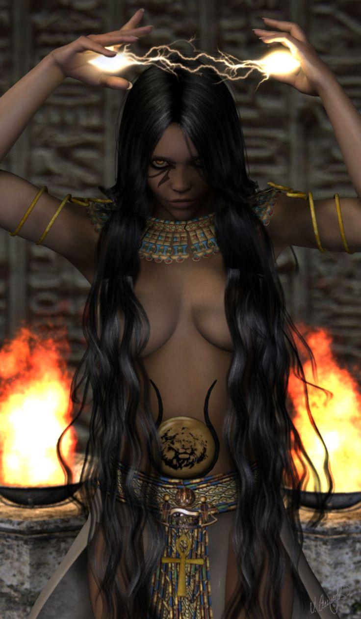 Sekhmet: 'The Powerful One' by Saidge42.deviantart.com
