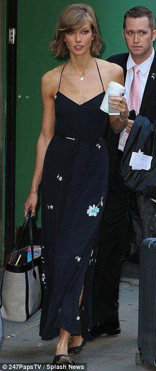 Karlie Kloss + dress