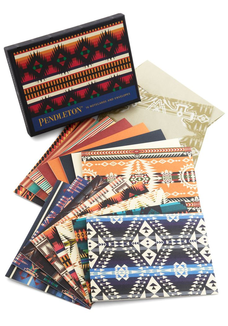 Pendleton Greetings From The Cabin Notecard Set Getaways Are For Exploring And Sipping Snuggling