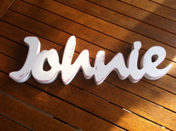 wood sign word baby name boy or  girl  wooden sign by svetulka, $56.00