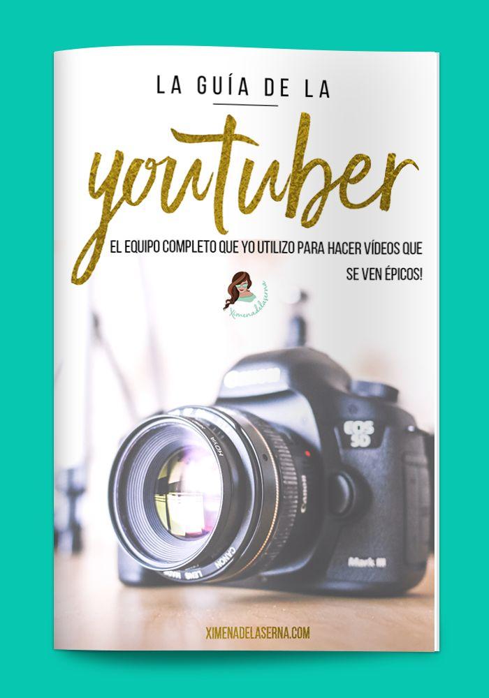 Quieres hacer vídeos más claros, bonitos, y llamativos para Youtube? Te enseño todo mi equipo (luces, cámara, edición) para ser una youtuber! Todo para emprender con pasión y alcanzar el exito online! Haz clic en la imagen para descargarte todos mis imprimibles y recursos gratis ya!!