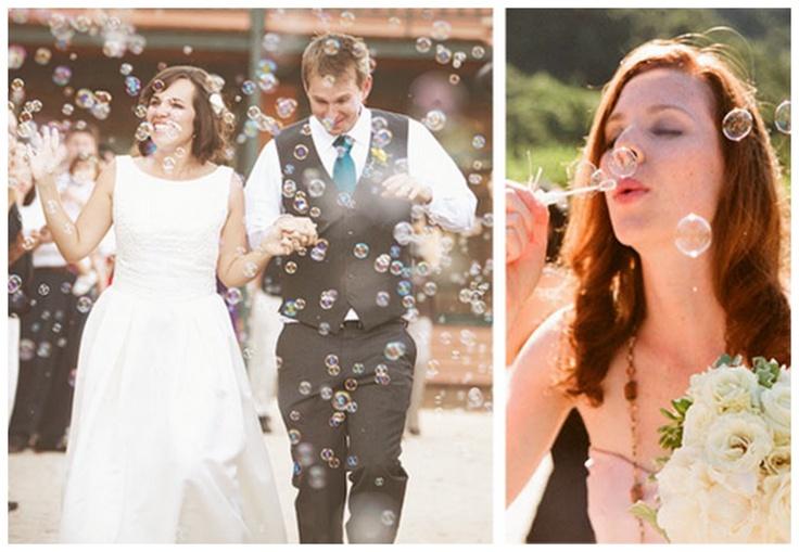 Wedding Confetti Bubbles