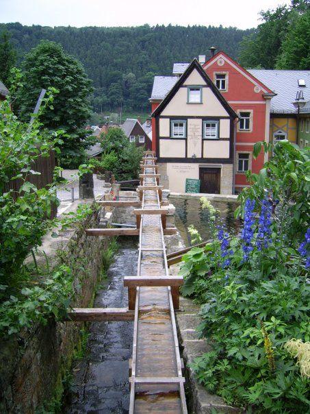 Stunning Schmilka near the Saxon Czech border Summer Julius B