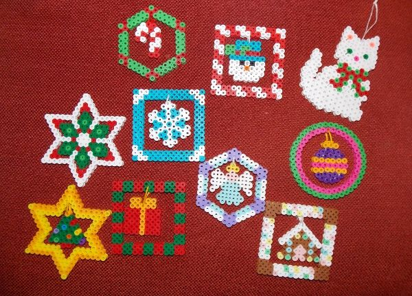 hama bead christmas patterns - Google Search