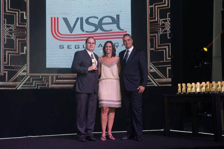 Entre as #EmpresasDeVigilância a Visel foi a mais reconhecida pelos consumidores capixabas.  #recalldemarcas2015 #crossmediarecall
