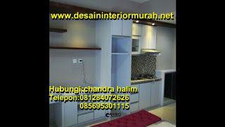 Desain Interior Apartemen Murah - INTERIOR KITCHEN SET