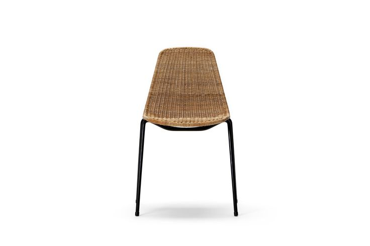 Basket Chair in natural rattan