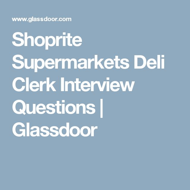 Apply with the ShopRite job application online today. Can you ...
